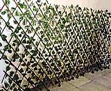 Muro ingles jardim vertical painel artificial folhagem m