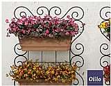 Kit painel jardim vertical suspenso 70x50cm horta olilo