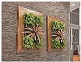 Jardim vertical suspenso - painel 55cm x 80cm olilo
