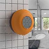 Caixa de som bluetooth aquarius acqua laranja
