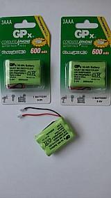 2 baterias universal ni-mh 3, 6v