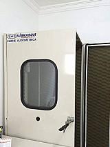 Cabine usada para gravacoes audiometrica vibrasom ã³timo estado