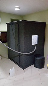 Cabine acustica audiometrica