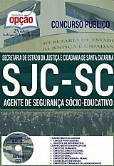 Apostila - agente de segurança socioeducativo - concurso sjc sc 2016