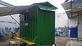 Área de vivência (refeitório) p/ 4 a 6 pessoas com banheiro