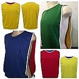 Colete esportivo,  uniformes de futebol dupla face 2 cores