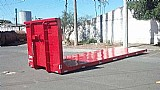 Prancha de carga / plataforma roll on roll off / carroceria