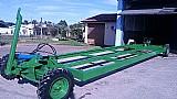 Plataforma para plantadeira hidraulico
