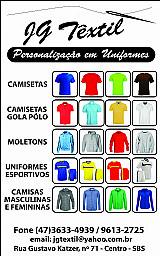 Camisetas e uniformes personalizados - masc e fem .