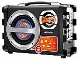 Caixa amplificada multiuso mondial thunder ii - mco-02 40w rms c/ karaoke entrada usb/sd/auxiliar bivolt