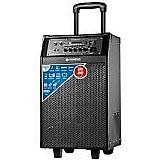 Caixa amplificadora mondial cm-02 connect pro 60w rms radio fm usb