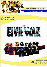 Bonecos colecao guerra civil (bonecos sao compativeis lego)