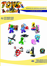 Bonecos minecraft (bonecos sao compativeis lego)
