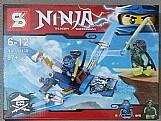 Kit ninja boneco nave (boneco compativel com lego)