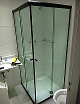 Box de vidro para banheiro 8mm temperado