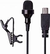 Microfone go externo fone pro suporte camera acessorio mic