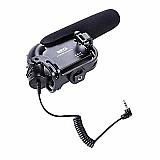 Microfone para cmera clip-on microphone
