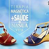 Sandalias femininas magneticas
