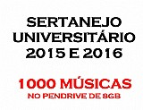 1000 musicas sertanejo universitario 2015 e 2016 no pendrive de 8gb