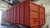Caixa roll on roll off conteiner cacamba 26 m³ reciclagem