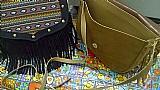 Bolsas modelos variados,  bolsa franja,  bolsa saco,  carteiras estampadas
