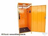 Banheiro agricola - banheiro rural - sanitario movel