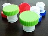 Kit com 10 rolha de garrafa de plastico serve para litrao