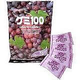 Bala japonesa gelatinosa uva kasugai gummy candy fruit 135gr