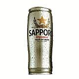 Cerveja japonesa taca - sapporo 650ml