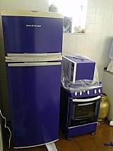 Envelopamento geladeira , fogao e microondas