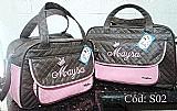Kit bolsas de bebe baby jhow,  maternidade,  personalizadas