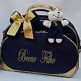 Bolsa maternidade personalizada. bolsa grande ..