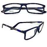 Armacao óculos de grau ray ban 8452 haste titanio