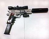 3 armas papel airsoft frete gratis (vc escolhe)