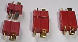 Conector macho e femea bateria aero e automodelism