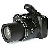 Camera digital nikon coolpix l330 preta - 20.2 mp,  lcd 3.0 ,