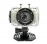 Camera filmadora digital action camcorder sport prova dagua