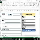 Planilha para impressao de recibos com base de dados