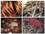 Sucata de cobre ,  latao ,  metal ,  bronze fios e cabos