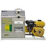 Moenda cana shop 200 litros com motor a gasolina e partida eletrica