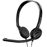 Fone de ouvido c/ microfone pc 31 - sennheiser