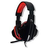 Fone de ouvido headset gamer p2 cabo nylon ph120 multilaser