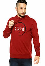 Moletom billabong blinds bordo
