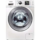 Lavadora de roupas samsung wf106u4sa branca 10, 1kg