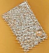 180 contas cristais translucidos facetados achatados,   tamanhos texto