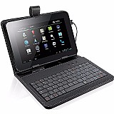 Tablet funcao celular 2 chips android 5.1   capa c/ teclado