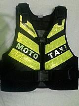 Colete para mototaxi
