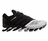 Tenis adidas springblade preto e prata