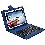 Tablet wifi android 3g - full hd duas camera   capa teclado