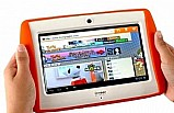 Tablet infantil emborrachado anti queda wi-fi camera frontal